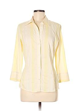 Banana Republic 3/4 Sleeve Button-Down Shirt Size M