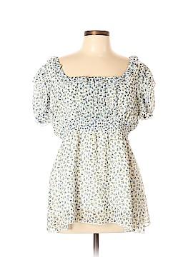 Lapis Short Sleeve Blouse Size XL