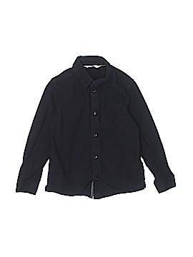 H&M Long Sleeve Button-Down Shirt Size 6 - 7