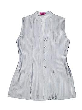 Violet Sleeveless Silk Top Size S