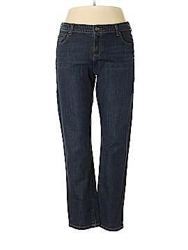 Garnet Hill Jeans Size 14 P