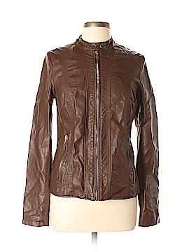 Worthington Faux Leather Jacket Size M