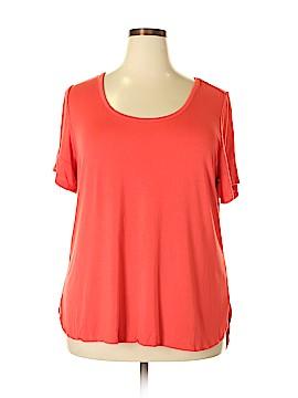 Lane Bryant Outlet Short Sleeve T-Shirt Size 18 (Plus)