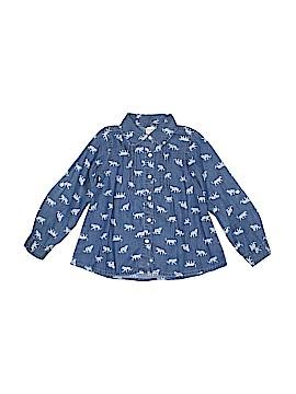 Gymboree Long Sleeve Button-Down Shirt Size 6