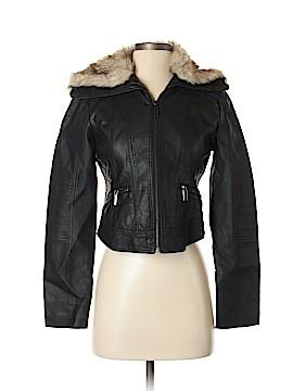 Ashley by 26 International Faux Leather Jacket Size S