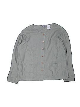 Erika & Co. Long Sleeve Button-Down Shirt Size M