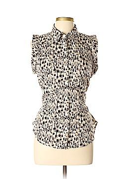 Ann Taylor Factory Short Sleeve Button-Down Shirt Size 10