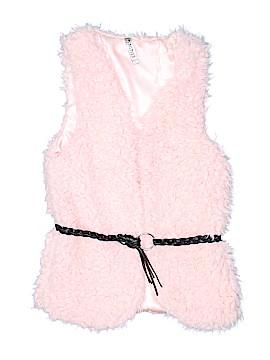 Beautees Faux Fur Vest Size L (Youth)