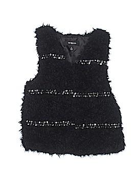 Amy Byer Faux Fur Vest Size 14