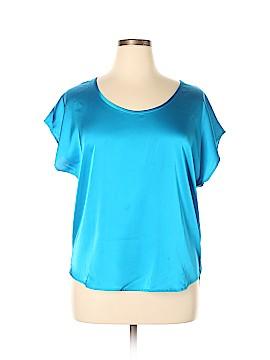 Boston Proper Short Sleeve Blouse Size 14