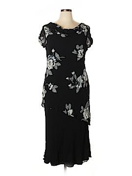 Eva Blue Casual Dress Size 16
