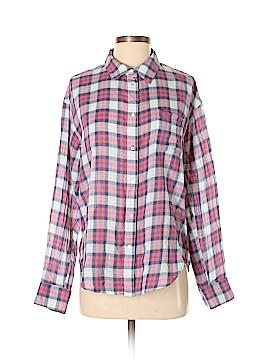 Elizabeth Long Sleeve Button-Down Shirt Size S