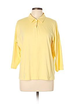 L.L.Bean 3/4 Sleeve Polo Size L