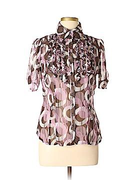 Worthington Short Sleeve Blouse Size 10