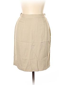 Coldwater Creek Silk Skirt Size 12