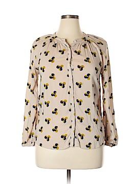 Boden Long Sleeve Blouse Size 16