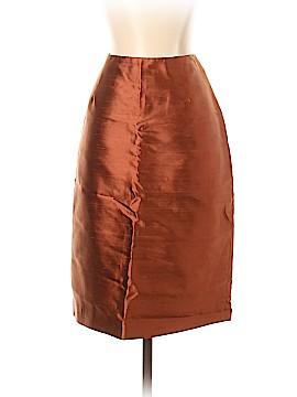Oscar by Oscar De La Renta Silk Skirt Size 4