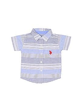 U.S. Polo Assn. Short Sleeve Button-Down Shirt Size 6-9 mo