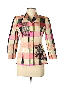 Paule Vasseur Silk Blazer Size 38 (FR)
