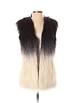 Guess Faux Fur Vest Size S