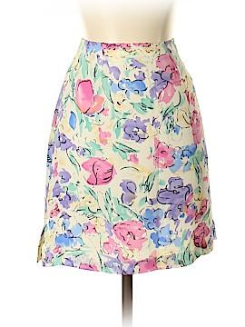 Boston Proper Silk Skirt Size 4