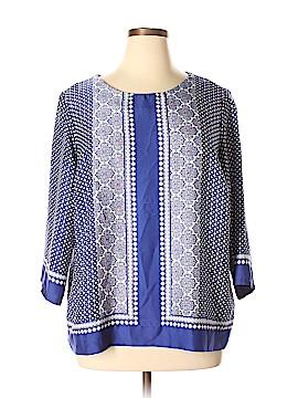 Dalia 3/4 Sleeve Blouse Size 1X (Plus)