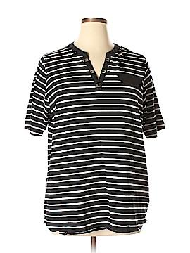 Anne Klein Short Sleeve T-Shirt Size 1X (Plus)