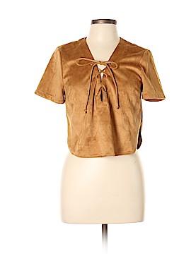 Cotton On Short Sleeve Blouse Size L