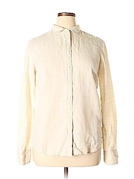 J. Crew Long Sleeve Button-Down Shirt Size 14 (Petite)
