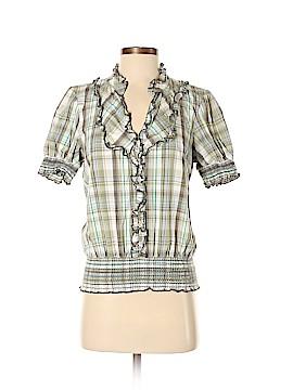 Sanctuary Short Sleeve Button-Down Shirt Size S