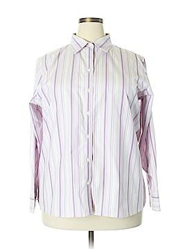 Eddie Bauer Long Sleeve Button-Down Shirt Size XXL