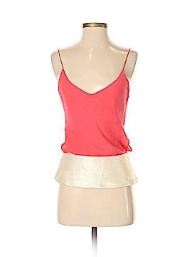 Lauren Moffatt Sleeveless Silk Top Size M