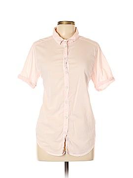 Velvet by Graham & Spencer Short Sleeve Button-Down Shirt Size L