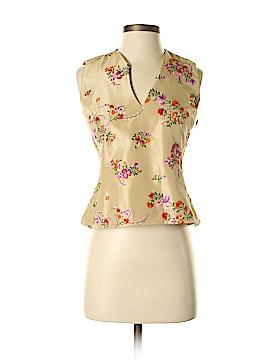 Noviello Bloom Suits Sleeveless Silk Top Size 4