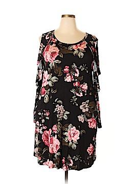Oddi Casual Dress Size 2X (Plus)