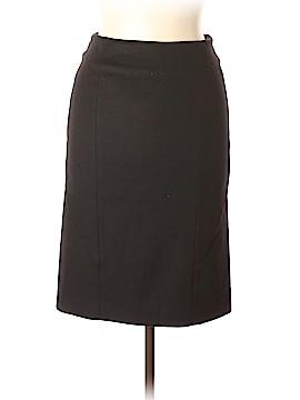 Pink Tartan Wool Skirt Size 6