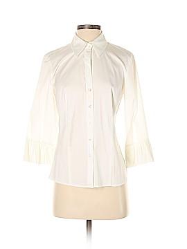 Ann Taylor 3/4 Sleeve Button-Down Shirt Size 4