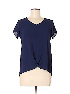 Monteau Short Sleeve Blouse Size M