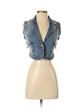 DKNY Jeans Denim Vest Size S
