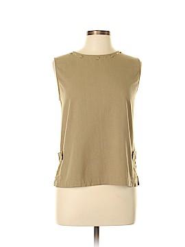 Cervelle Sleeveless Silk Top Size L