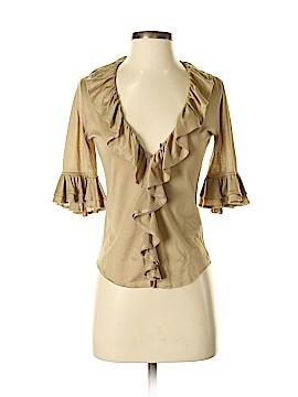 Ralph Lauren Collection 3/4 Sleeve Top Size S