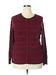 Charter Club Women Cardigan Size 2X (Plus)