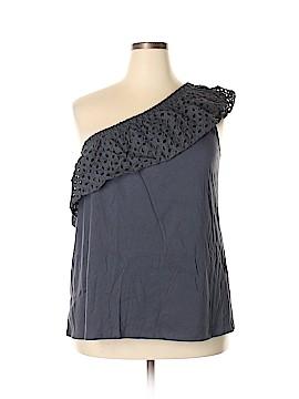 Ann Taylor LOFT Short Sleeve Top Size XXL