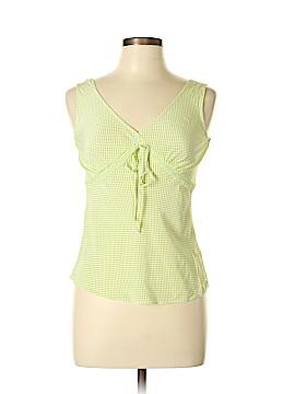 Isaac Mizrahi Sleeveless Silk Top Size M