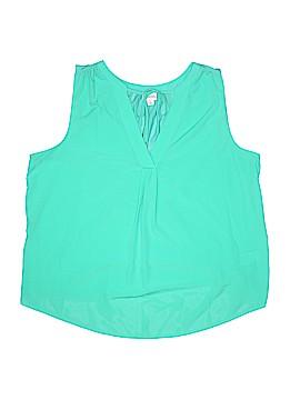 Merona Sleeveless Blouse Size L