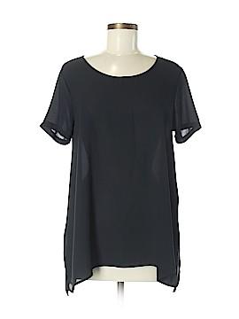 Lush Short Sleeve Blouse Size M