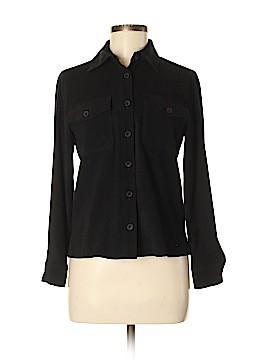 Harve Benard by Benard Holtzman Long Sleeve Button-Down Shirt Size 4 (Petite)