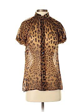 Dolce & Gabbana Short Sleeve Blouse Size 38 (IT)
