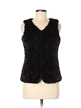 Esprit Faux Fur Vest Size 6