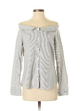 Potter's Pot Long Sleeve Button-Down Shirt Size M